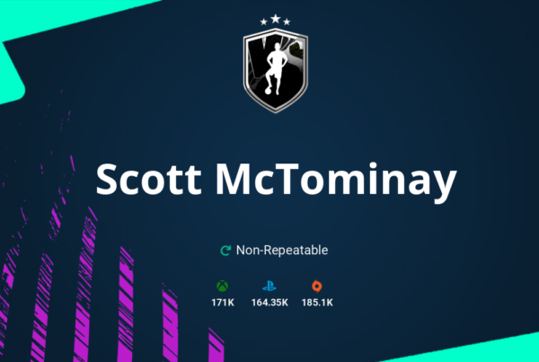 FIFA 21 Scott McTominay SBC Requirements & Rewards