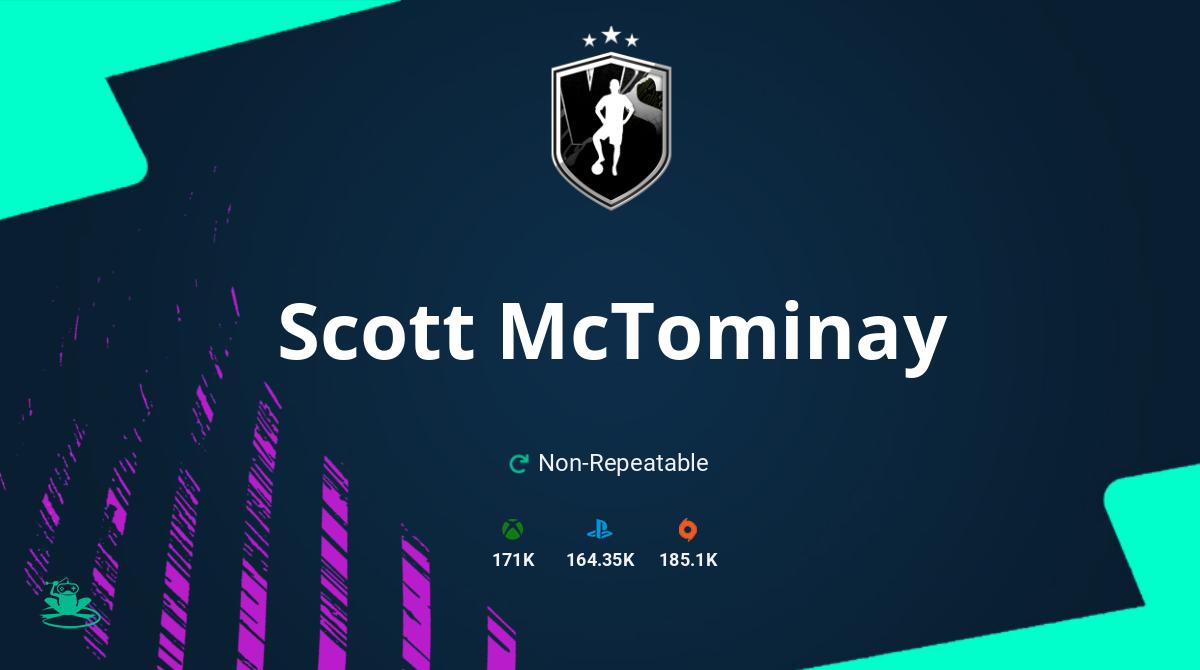 FIFA 21 Scott McTominay SBC Requirements & Rewards