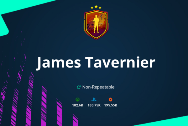FIFA 21 James Tavernier SBC Requirements & Rewards