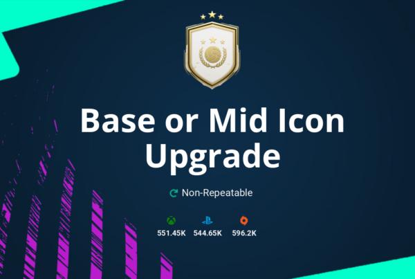 FIFA 21 Base or Mid Icon Upgrade SBC Requirements & Rewards