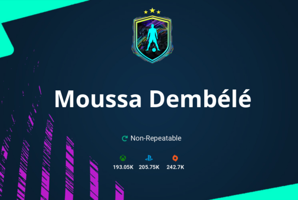 FIFA 21 Moussa Dembélé SBC Requirements & Rewards