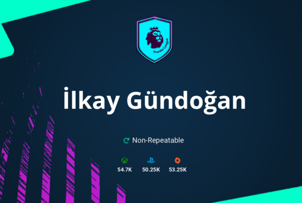 FIFA 21 İlkay Gündoğan SBC Requirements & Rewards