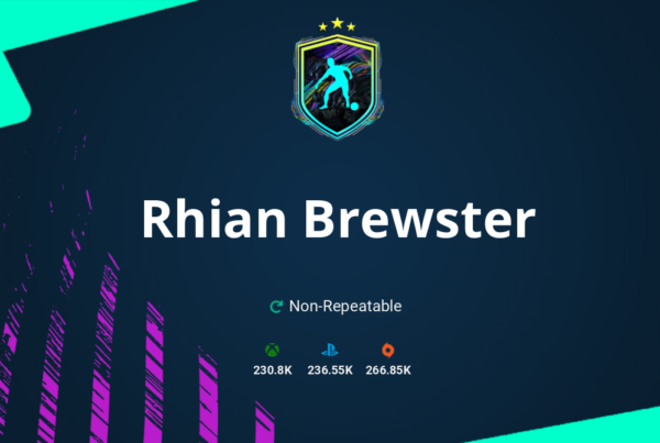 FIFA 21 Rhian Brewster SBC Requirements & Rewards
