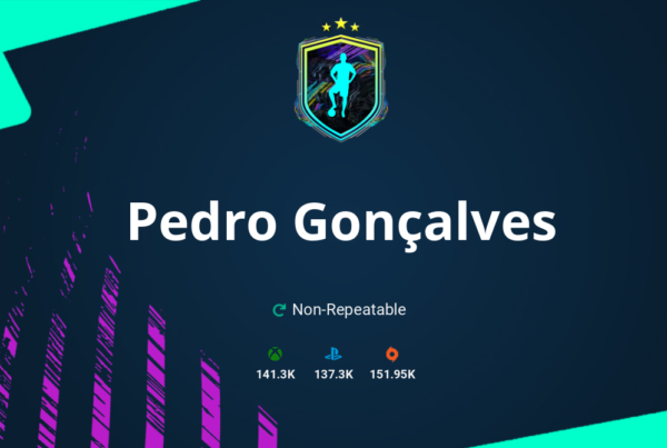 FIFA 21 Pedro Gonçalves SBC Requirements & Rewards