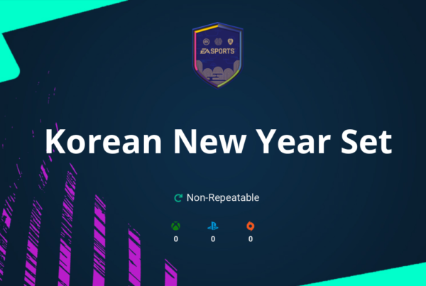 FIFA 21 Korean New Year Set SBC Requirements & Rewards