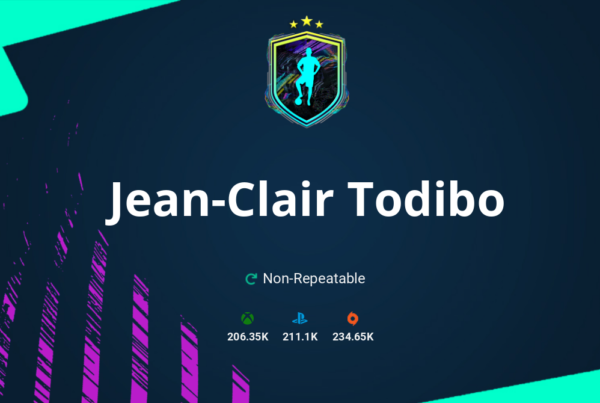 FIFA 21 Jean-Clair Todibo SBC Requirements & Rewards
