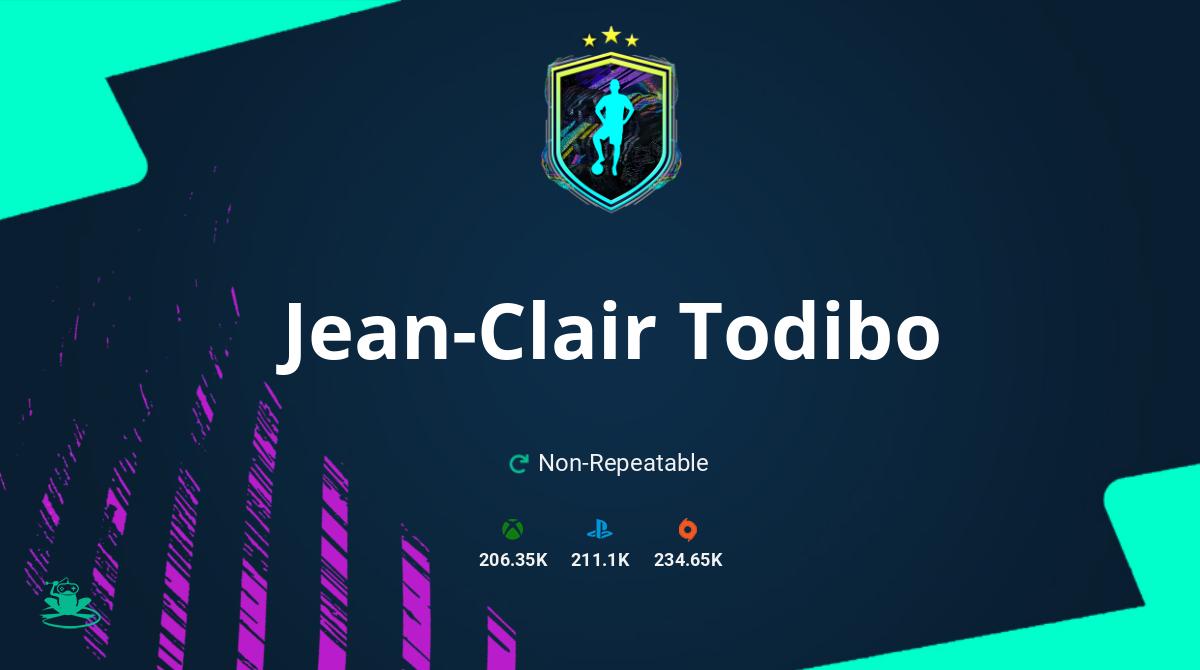 FIFA 21 Jean-Clair Todibo SBC Requirements & Rewards