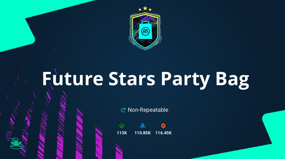 FIFA 21 Future Stars Party Bag SBC Requirements & Rewards