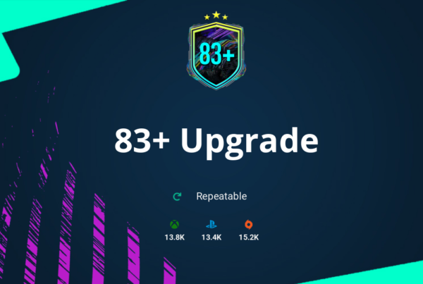 FIFA 21 83+ Upgrade SBC Requirements & Rewards