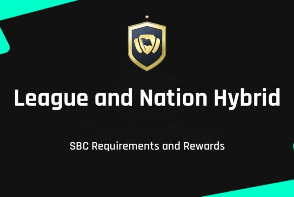 FIFA 22 League and Nation Hybrid SBC Requirements & Rewards
