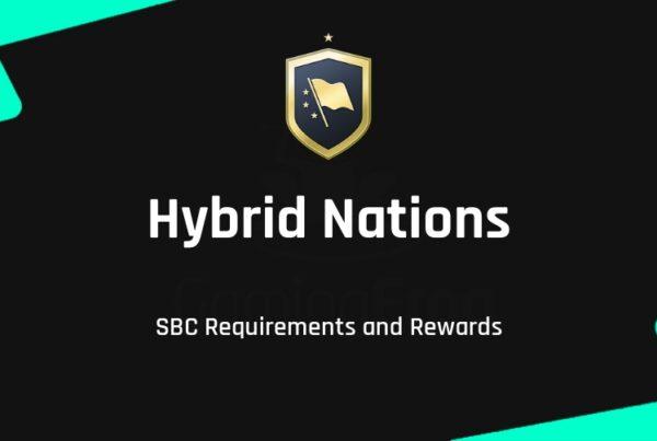 FIFA 22 Hybrid Nations SBC Requirements & Rewards