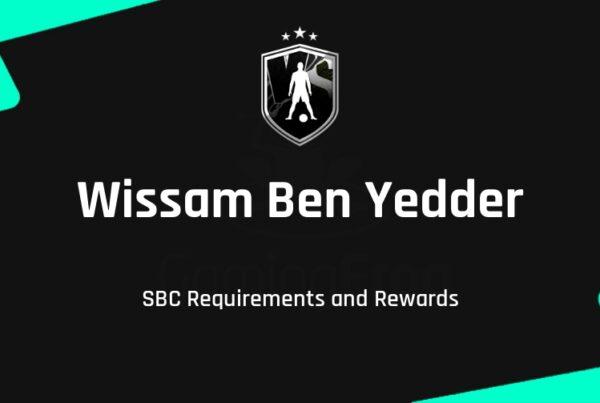 FIFA 21 Wissam Ben Yedder SBC Requirements & Rewards