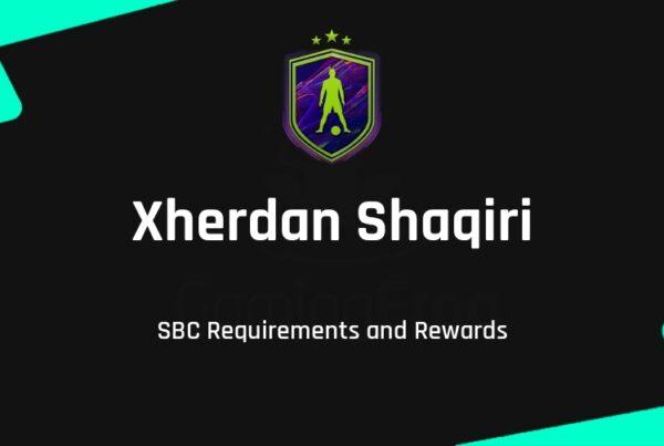 FIFA 22 Xherdan Shaqiri SBC Requirements & Rewards
