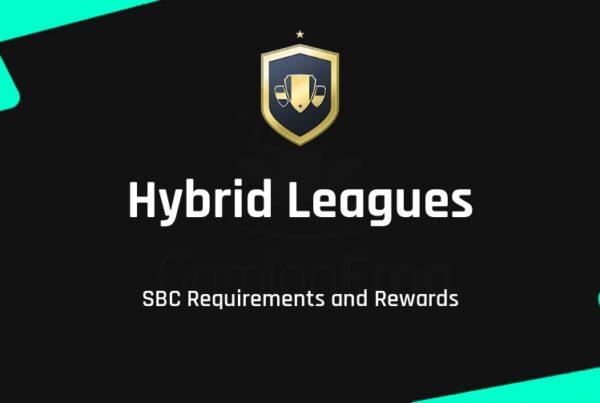 FIFA 22 Hybrid Leagues SBC Requirements & Rewards