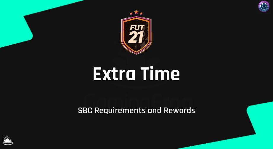 FIFA 21 Extra Time SBC Requirements & Rewards