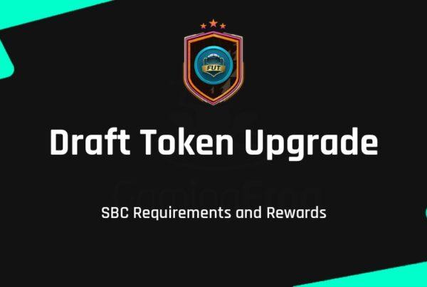 FIFA 21 Draft Token Upgrade SBC Requirements & Rewards