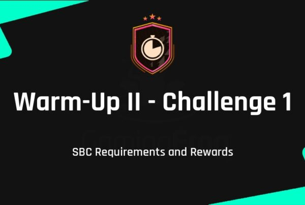 FIFA 21 Warm-Up II - Challenge 1 SBC Requirements & Rewards