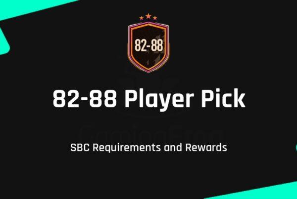 FIFA 21 82-88 Player Pick SBC Requirements & Rewards