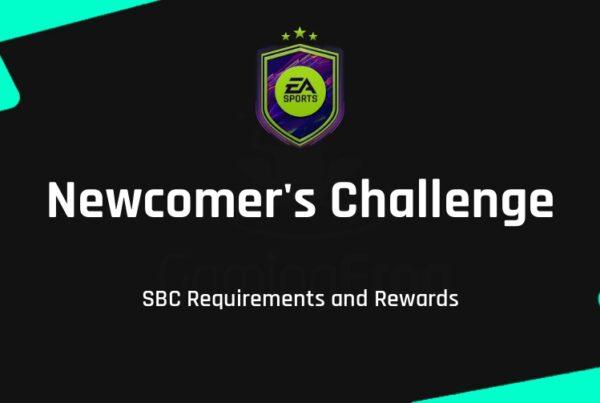 FIFA 22 Newcomer's Challenge SBC Requirements & Rewards