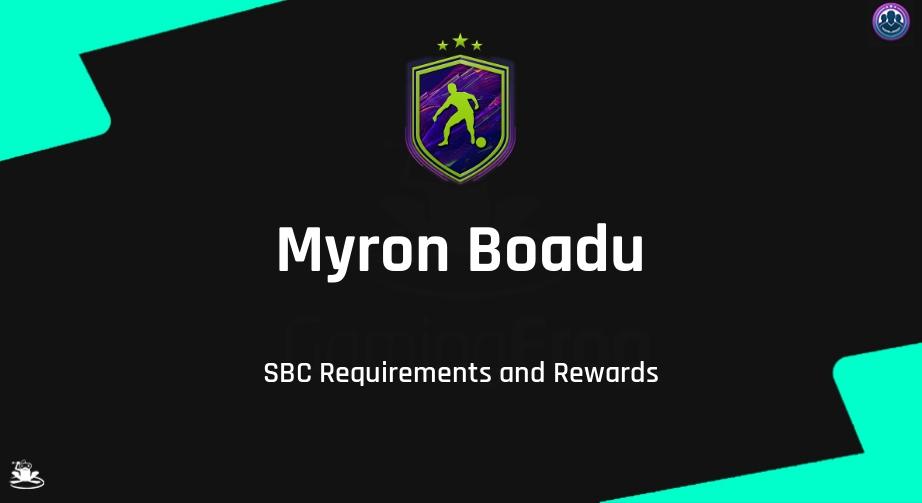 FIFA 22 Myron Boadu SBC Requirements & Rewards