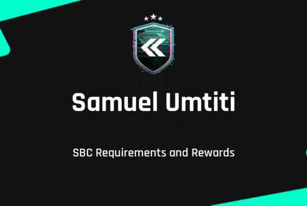 FIFA 22 Samuel Umtiti SBC Requirements & Rewards